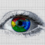 image of eye with multicoloured iris